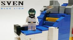 Sven and Blue lion LEGO