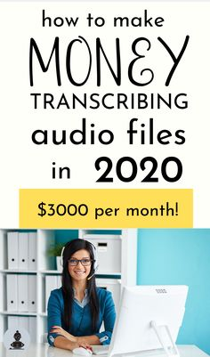 Work From Home Careers Medical Transcription Jobs, Transcription Jobs For Beginners, Medical Transcriptionist, Medical Careers, Medical Coding, Make Money From Home, Way To Make Money, Make Money Online, How To Make