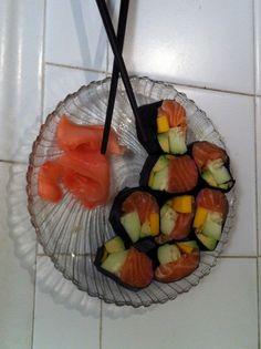 Tropical riceless sushi https://www.facebook.com/AvisKosherKitchen