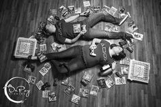 After a long night of video games. Gamer Engagement Photo Shoot.