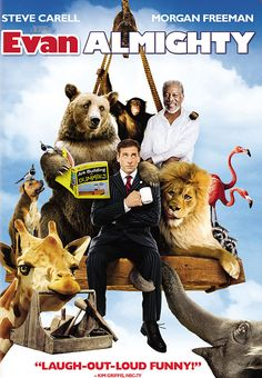 This movie is hilarious. A must watch. What would you do if God asked you to build an ark?
