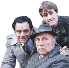 Only Fools and Horses - Del, Rodney and Grandad. Only Fools And Horses, Bbc Tv, British Comedy, Comedy Tv, The Fool, Nostalgia, It Cast, Couple Photos, Boys