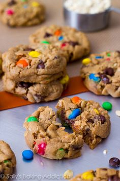 Soft-Baked Monster Cookies