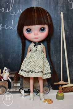 OOAK Blythe Custom Doll For Adoption-Cloe' | Flickr - Photo Sharing!
