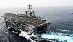 China and America Clash on the High Seas: The EEZ Challenge Poder Naval, Naval Station Norfolk, Navy Careers, Uss Enterprise Cvn 65, Clash On, Uss Nimitz, Nuclear Submarine, Go Navy, Naval Academy