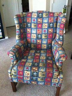 DIY Idea: Heather Teaches How To Reupholster A Chair   Rainbow International Blog