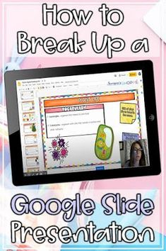 Learn how to take digital assignments and break them up into smaller ones that are just right for your kids. You may not be a google slide tech pro, but you'll feel like one after you read these online teaching tips. Check it out! Learning Resources, Teaching Tools, People Reading, Instructional Technology, Instructional Strategies, Teaching Technology, Technology Integration, Flipped Classroom, Blended Learning
