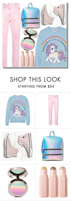 """""""My Little Pony"""" by drigomes ❤ liked on Polyvore featuring Moschino, Étoile Isabel Marant, Madewell, Skinnydip and Ciaté"""