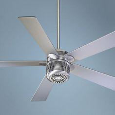 "52"" Quorum Telstar Contemporary Ceiling Fan with Light Kit"