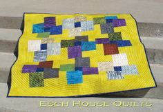 Turnstile quilt pattern by EschHouseQuilts on Etsy, $9.00