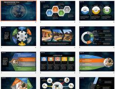 global network PowerPoint by SageFox