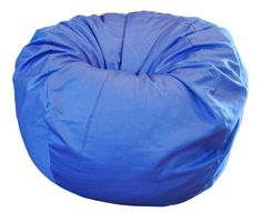 Products Blue Organic Cotton Large Bean Bag Chair ** Check out the image by visiting the link-affiliate link. Large Bean Bag Chairs, Large Bean Bags, Wood Patio Chairs, Classic Bean Bags, Cotton Bag, Denim Cotton, Weathered Wood, Green Bag, Waterproof Fabric