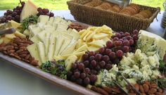 International & Domestic Cheese Display at Blacklake Golf Resort - A classic choice for your cocktail hour.