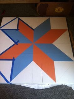 Wiki instructions on how to make a barn quilt.