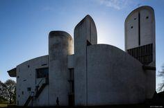 Eglise Notre Dame de Haut, Ronchamp, Le Corbusier