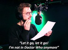 The Ballad of Arthur Darvill. I love this!!! [click thru for video link]