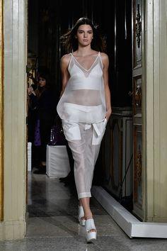 Kendall Jenner Runway Evolution - Elle Ports1961 Spring 2015