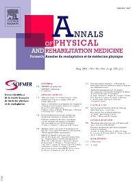 Annales de réadaptation et de médecine physique [recurs electrònic]. New York, NY : Elsevier Science Pub. Co.,