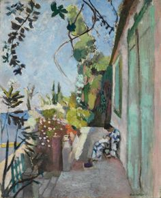 Henri Matisse The Terrace, Saint-Tropez, 1904