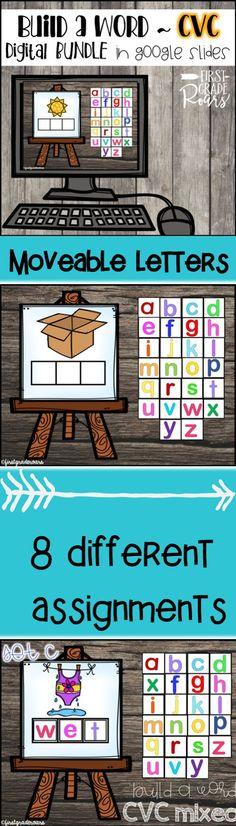 Student Teaching, Teaching Reading, Google Classroom, Classroom Activities, Letter Activities, Classroom Ideas, Online Classroom, Teaching Technology, First Grade Classroom