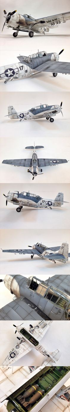 TBM-3 Avenger / Academy kit worked by byun jaewoo