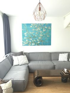 Wall deco of ixxi. Almond Blossom by Vincent van Gogh. #myhome