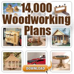 "Now You Can Build Any Woodworking Project Easily With 16000 ""Done-For-You""Plans With Step By Step Blueprints"