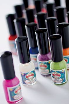 Ueba Esou water-based Gofun nail polish.