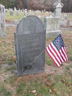 Nutfield Genealogy: Tombstone Tuesday ~ Major John Butterfield, Revolutionary War Patriot #genealogy