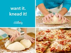 Perfect Parmesan Pizza Dough #recipe: Your solution for being pizza-ready any time.