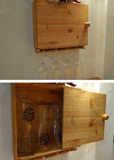 wine box for glasses