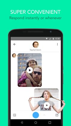 Glide - Video Chat Messenger- screenshot Android L, Android Hacks, Android Features, You Videos, Material Design, Facetime, Google Play, Apps, App