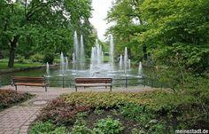 Schlossgarten Beautiful part of the city of Fulda