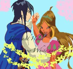 And here is Flora and Helia as Snow White and her prince. Flora and Helia as Snow White and her Prince Les Winx, Winx Club, Flora, Snow White, Disney Characters, Fictional Characters, Deviantart, Disney Princess, Anime