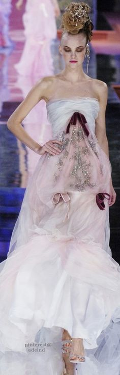 Christian Lacroix Spring 2005 Couture