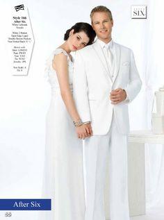 #WhiteTux #Tuxedo #Handsome  #weddingtux