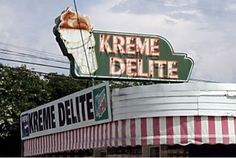 Alabama's walk-up dairy bars - Athens' Kreme Delite!!  I LOVE THIS PLACE!!!  Aiesha Tarrant absolutely loves this place. Kreme Delight should be featured on Absolutely Alabama