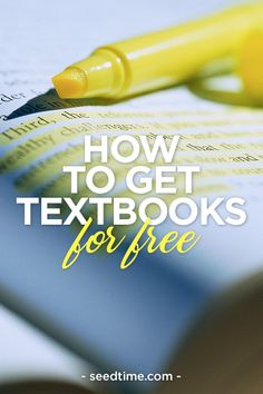 How to get textbooks for free A simple method you can use to get your college textbooks for free! - College Scholarships Tips Financial Aid For College, College Planning, Scholarships For College, Education College, Budgeting For College Students, Art Education, College Life Hacks, College List, Online College