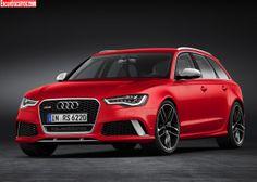 Audi RS6 | Audi RS6 Avant 2014 – Nova perua da Audi será a mais veloz do mundo