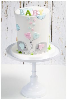 Babyshower boy or girl - Cake by Taartjes van An (Anneke)