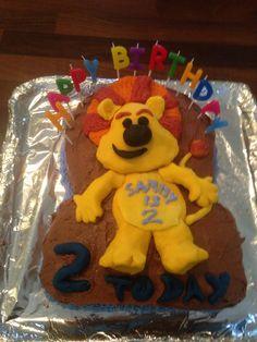 Sainsbury S Party Cake Decorations : Bing Bunny choc birthday cake Baking I ve made ...