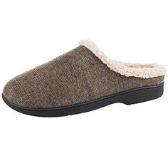 7eaee948566 ISOTONER Men s Microsuede Devin Slip On Slipper with with Cooling Memory  Foam for Indoor Outdoor Comfort (X-Large