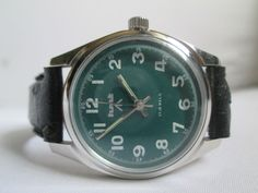 100% AUTHENTIC VINTAGE HMT MILITARY 17 JEWEL WINDING MENS WRIST WATCH LIMITED
