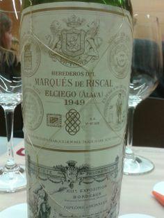 Riscal 1949 Wine Bottles, Wine