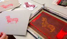 Siebdruckworkshops - silberfabrik - die offene Druckwerkstatt
