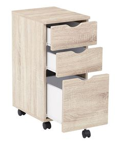 Look what I found on #zulily! Light Driftwood-Finish Lois File Cabinet #zulilyfinds