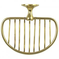 Wall Mount Soap Dish / Sponge wash cloth holder Solid Brass vintage Replica