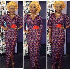 Catch Up With The Trend With These Ankara Styles - Wedding Digest Naija Latest Ankara Dresses, Ankara Dress Styles, African Print Dresses, African Dresses For Women, African Attire, African Wear, African Fashion Dresses, African Prints, Ghanaian Fashion