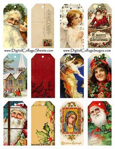 Lots of Links to Free Christmas Printables