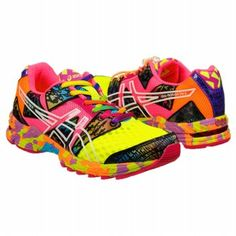 asics womens gel noosa tri 8 yellow pink multi